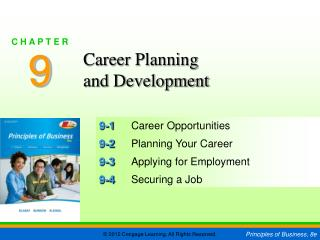 9-1	 Career Opportunities 9-2	 Planning Your Career 9-3	 Applying for Employment