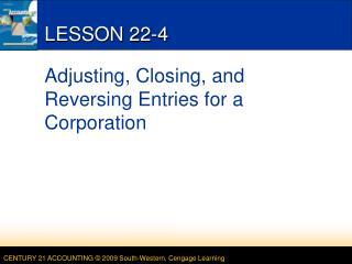 LESSON 22-4
