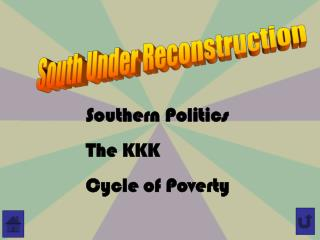 South Under Reconstruction