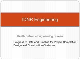 IDNR Engineering
