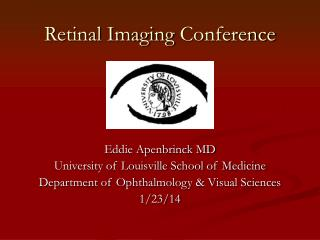 Retinal Imaging  Conference