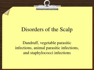 Disorders of the Scalp
