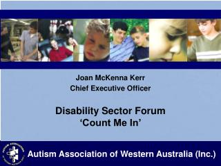 Disability Sector Forum  'Count Me In'