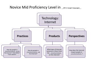 Novice Mid Proficiency Level in  __(fill in target language)__