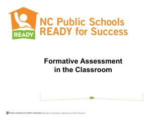 Formative Assessment  in the Classroom