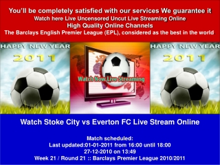 stoke city vs everton fc live stream online (epl) tv show