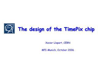 The design of the TimePix chip