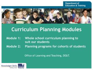 Curriculum Planning Modules