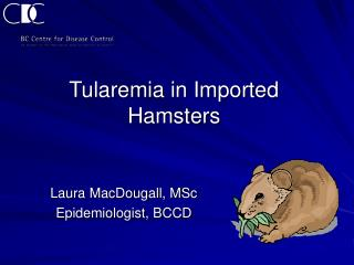Tularemia in Imported Hamsters