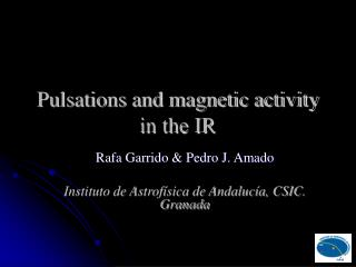 Pulsations and magnetic activity in the IR