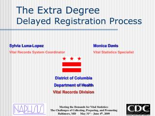 The Extra Degree Delayed Registration Process