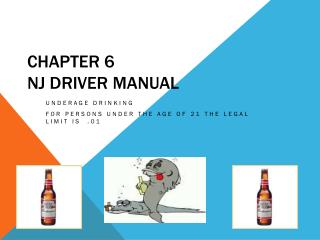 Chapter 6  NJ Driver Manual