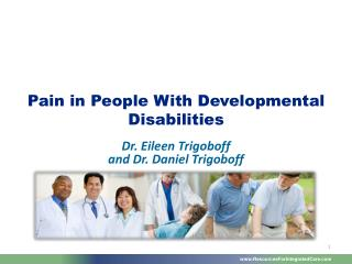 Pain in People With Developmental Disabilities