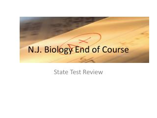 N.J. Biology End of Course