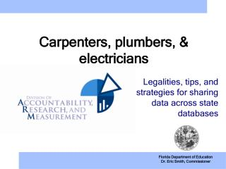 Carpenters, plumbers, & electricians