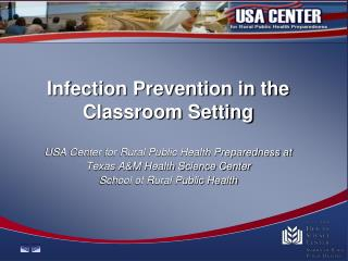 Infection Prevention in the Classroom Setting