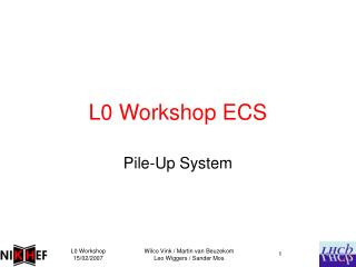 L0 Workshop ECS
