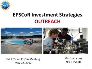 EPSCoR Investment Strategies OUTREACH