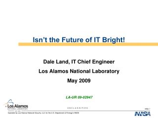 Isn t the Future of IT Bright