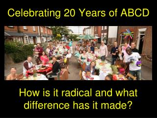 Celebrating 20 Years of ABCD