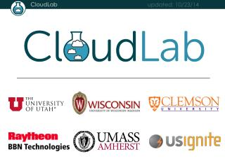 The Need Addressed by CloudLab