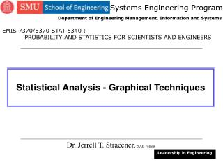 Statistical Analysis - Graphical Techniques