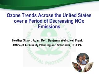 Ozone Trends Across the United States over a Period of Decreasing NOx Emissions
