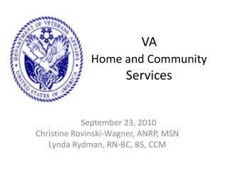 VA Home and Community Services