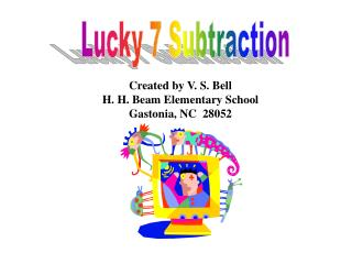 Lucky 7 Subtraction