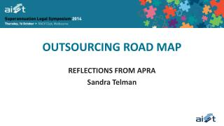 OUTSOURCING ROAD MAP