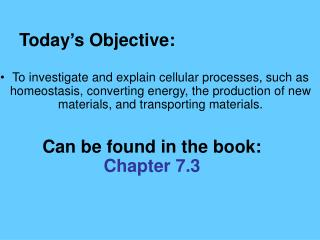 2.1 Section Objectives – page 35