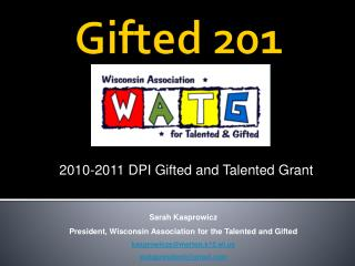 Gifted 201