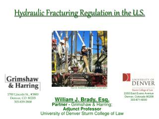 Hydraulic Fracturing Regulation in the U.S.
