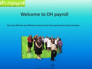 Experience defect-free payroll services for your small busin