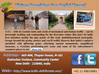 Travel Tips with India Delhi Hotels