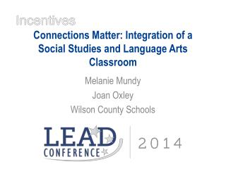 Connections Matter: Integration of a Social Studies and Language Arts Classroom