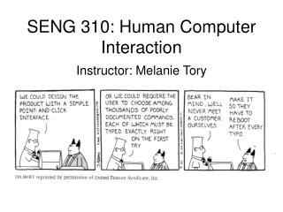 SENG 310: Human Computer Interaction