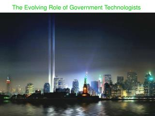 The Evolving Role of Government Technologists