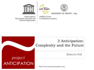 3 Anticipation: Complexity and the Future