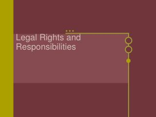 Legal Rights and Responsibilities