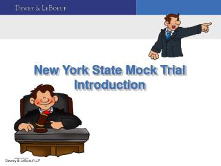 New York State Mock Trial Introduction