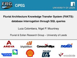 Fluvial Architecture Knowledge Transfer System (FAKTS): database interrogation through SQL queries