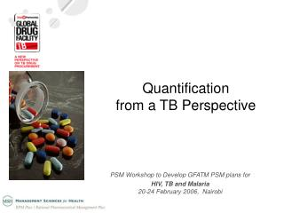 Quantification  from a TB Perspective