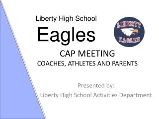 CAP MEETING COACHES, ATHLETES AND PARENTS