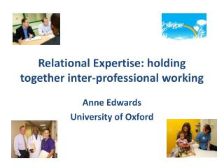 Relational Expertise: holding together inter-professional working