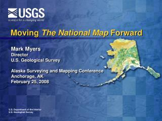 Moving  The National Map  Forward