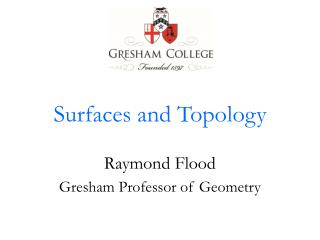 Surfaces and Topology