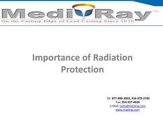Importance of Radiation Protection