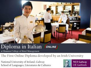 The First Online Diploma developed by an Irish University