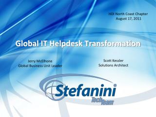 Global IT Helpdesk Transformation